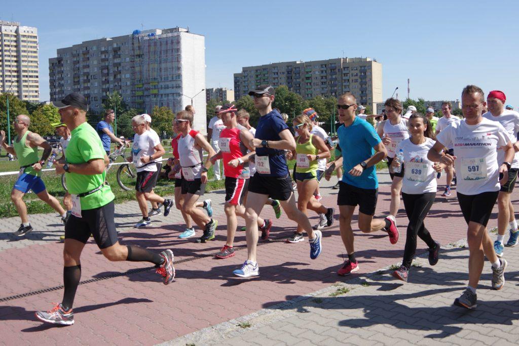 Półmaraton w Tychach, czy w piekle?